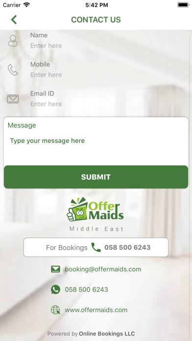 Offer Maids screenshot three