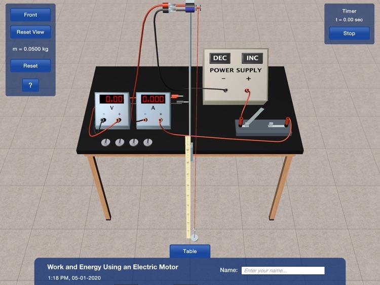 PP+ Work & Energy Motor