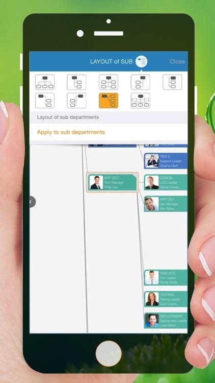 Organization Chart Management screenshot-3