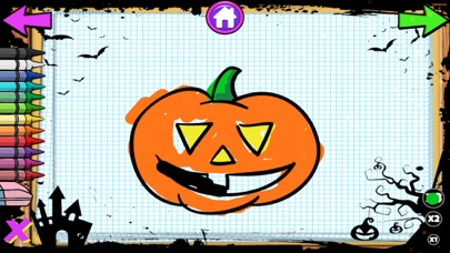 Color Objects Halloween screenshot 2