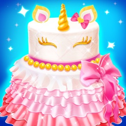 Unicorn Princess Cake