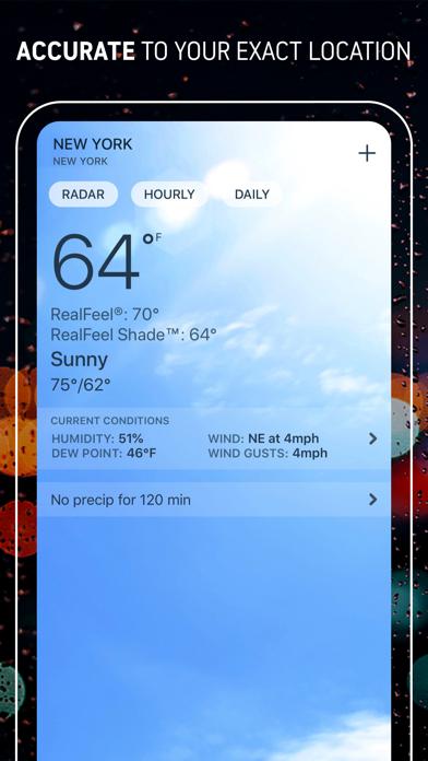 AccuWeather: Weather Radar Screenshot