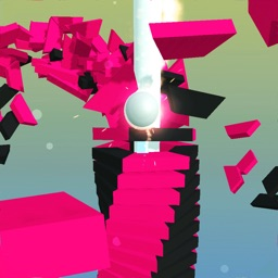 Stack Helix Jump Ball 3D