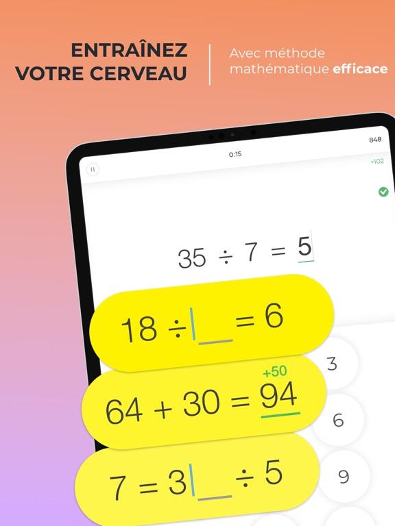 Screenshot #4 pour Math Brain Booster Jeux