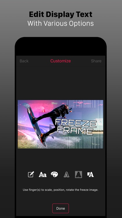 Freeze Frame Intro Movie Maker screenshot-3