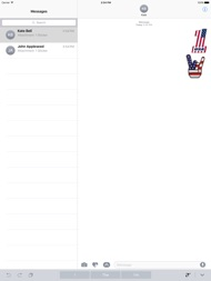 I Love The American Flag Icon ipad images