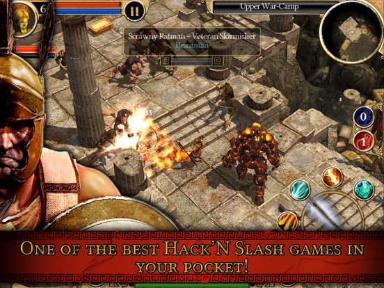 Titan Quest HD на iPad