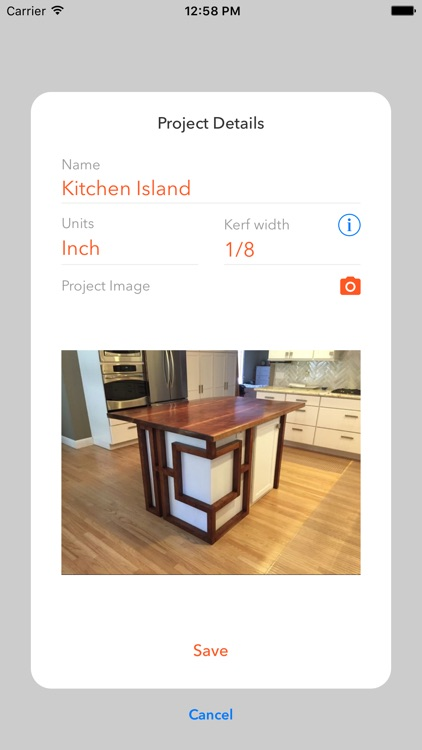 KerfMaker Woodworking Planner screenshot-0