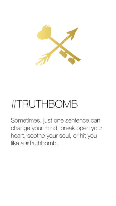#Truthbomb by Danielle LaPorte Screenshots