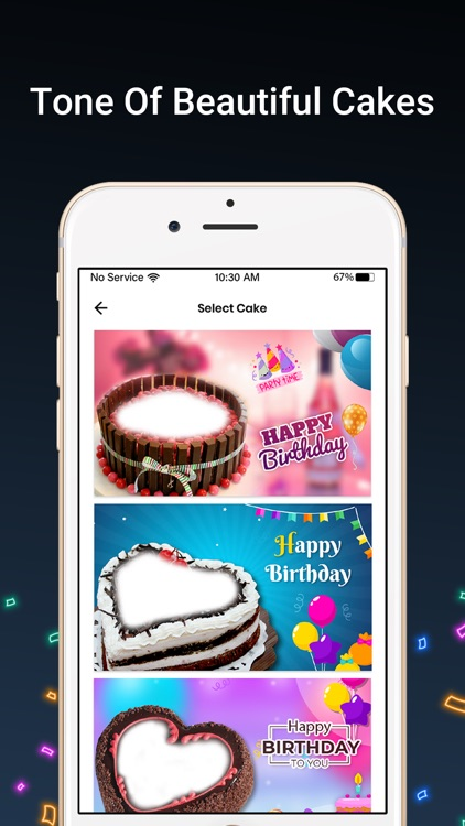 Bday Video Maker, Wishes,Cards screenshot-5