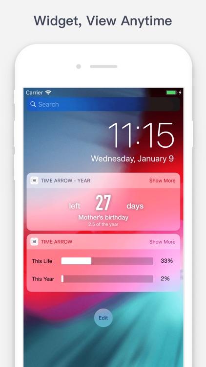 Time Arrow - Countdown 365 screenshot-5