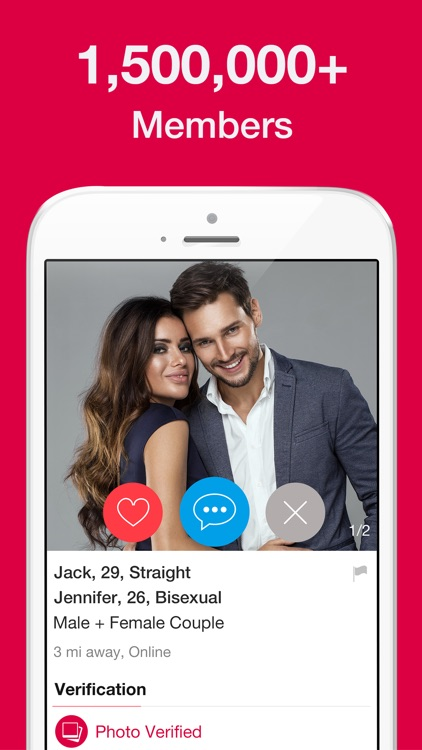 3Fun: Threesome & Swingers App