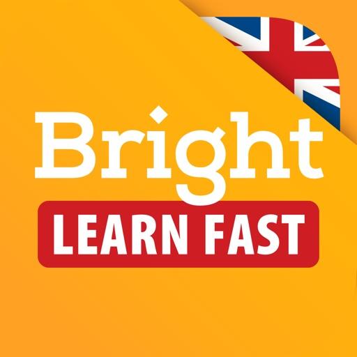 Bright - English for beginners app logo
