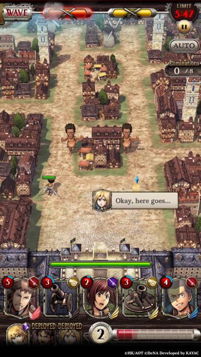 Attack on Titan TACTICS screenshot 7