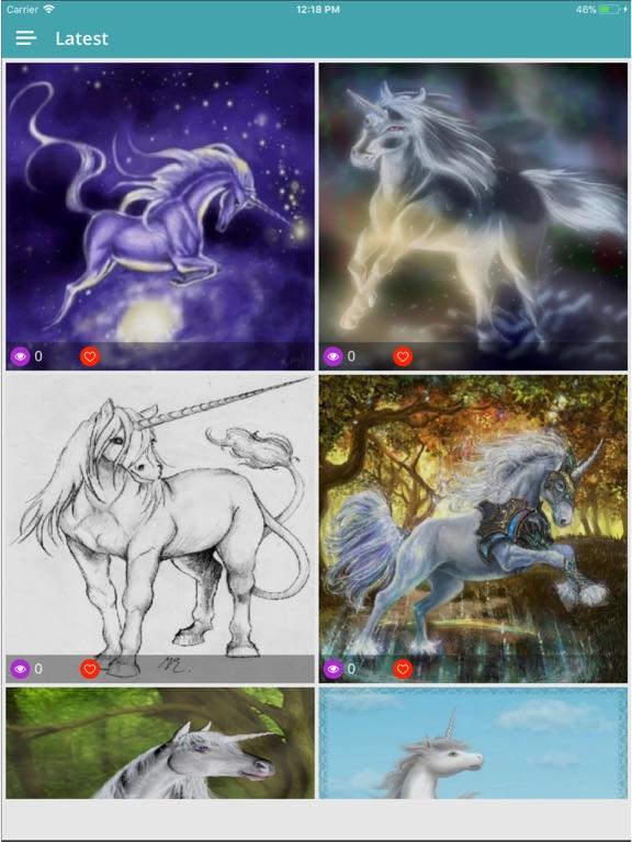 Rainbow Unicorn Wallpapers Hd App Price Drops