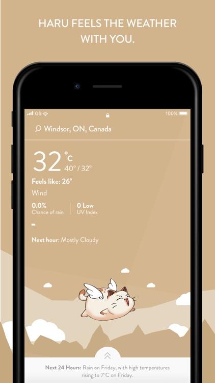 Weather Haru - Live Forecasts screenshot-5