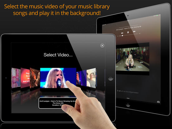 AudioViz  - View your Music Songs (for YouTube)! screenshot