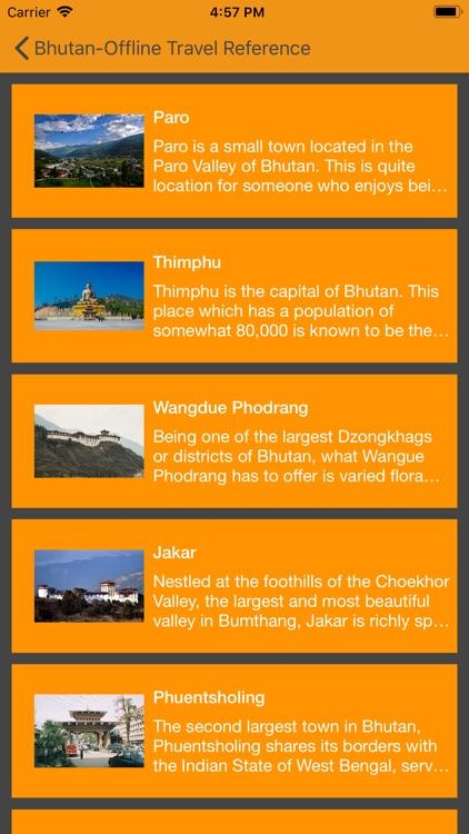 Bhutan-Offline Reference screenshot-3