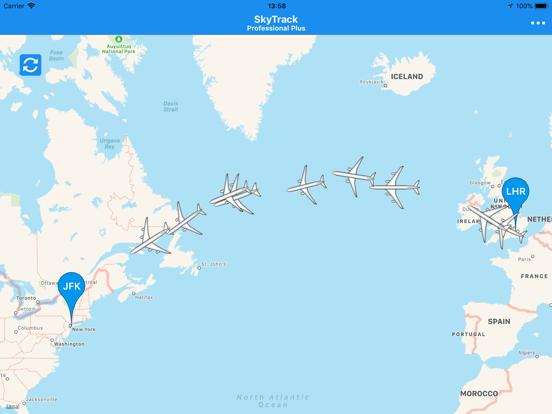 SkyTrack Flight tracker aware-ipad-6