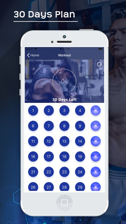 30 Day Home Workout & Fitness screenshot-3