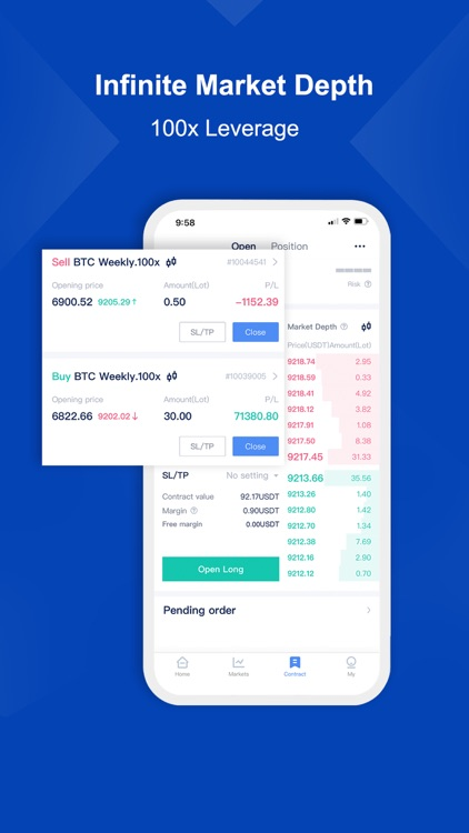 BTCC - Trade Bitcoin & Crypto screenshot-2