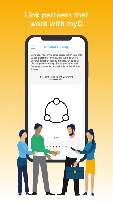 LiftMaster® MyQ® Home and Property Control screenshot