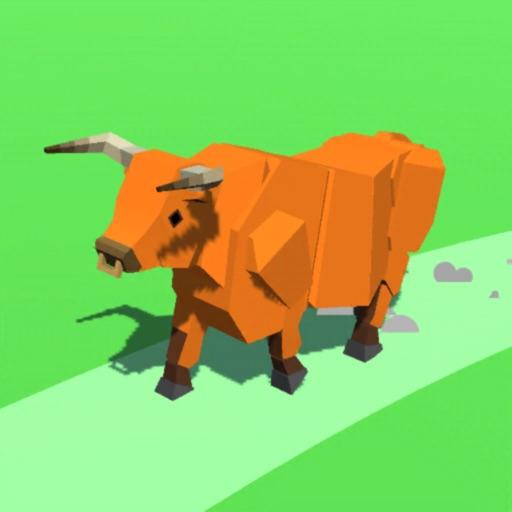 Animal Run 3D!