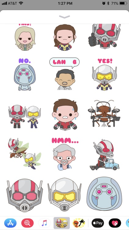 Ant-Man and The Wasp Stickers screenshot-4