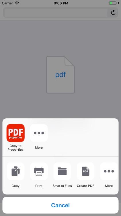 PDF Properties screenshot-6