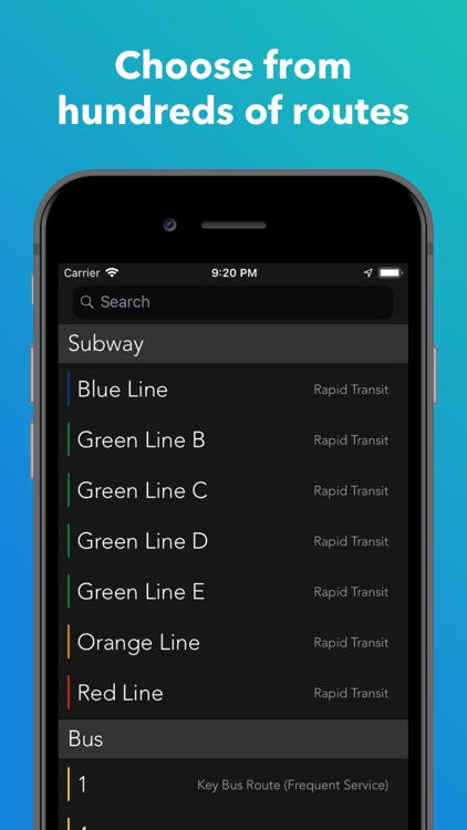 ProximiT: MBTA Bus and Subway screenshot-4