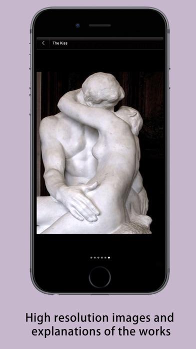 Rodin Museum Guide screenshot two