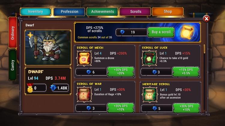 Lords Royale: RPG Clicker screenshot-3