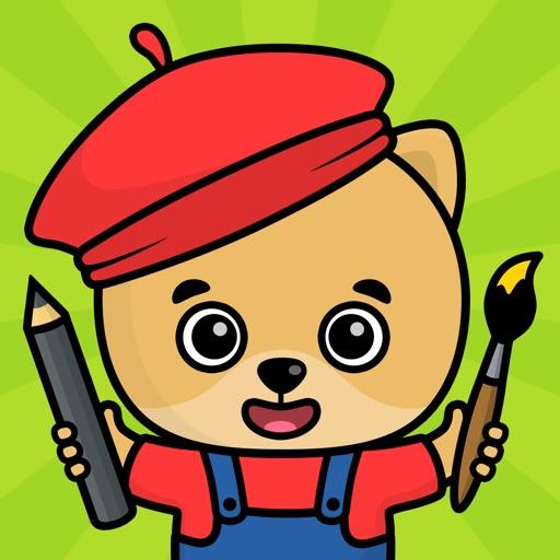 Baixar Jogos infantis de colorir 2-5 para iOS