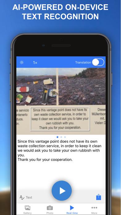 Photo Translator AR Screenshot