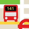 London Live Bus Map