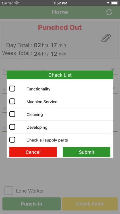 Timesheet Mobile™ screenshot-6