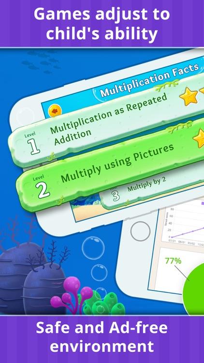 3rd Grade Math Games for Kids screenshot-3