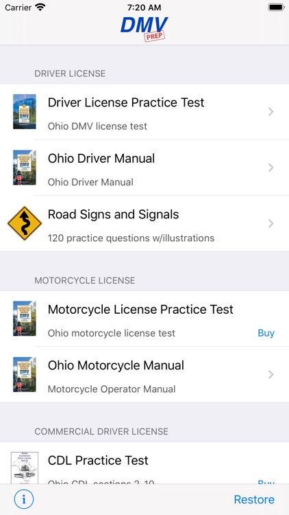 Ohio DMV Test Prep screenshot-0