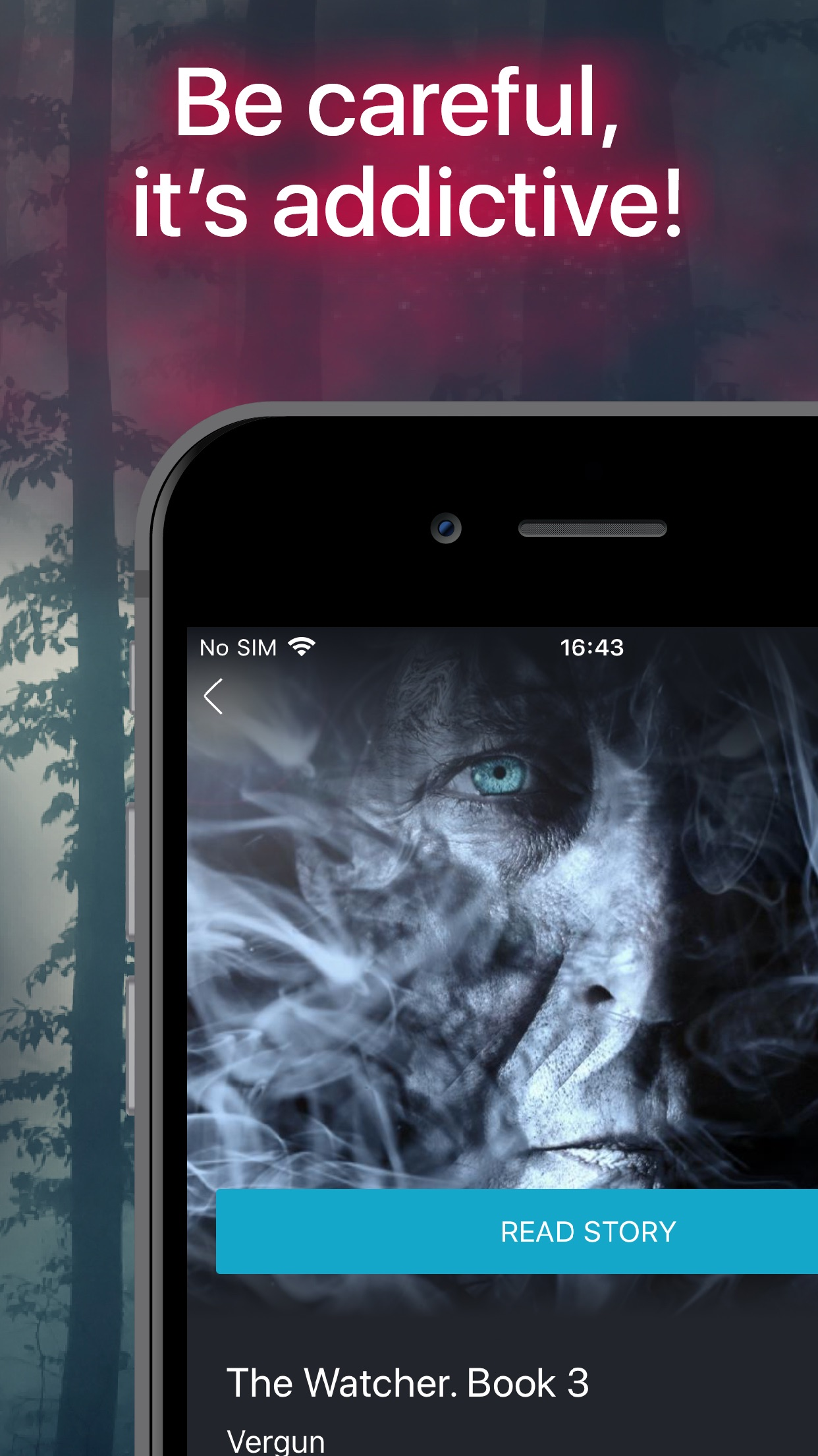 Abyss — Thrilling Chat Stories Screenshot
