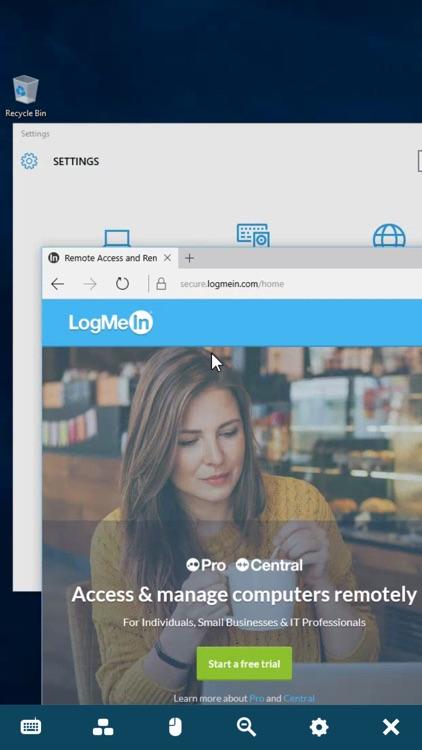 LogMeIn screenshot-3
