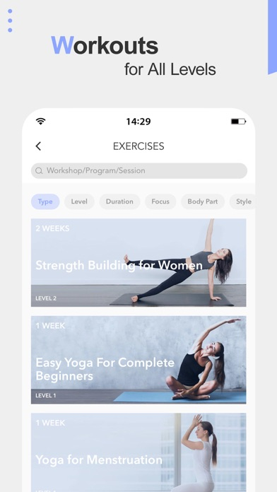 Daily Yoga - Workout & Fitness Screenshot