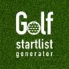 Golf Startlist Generator