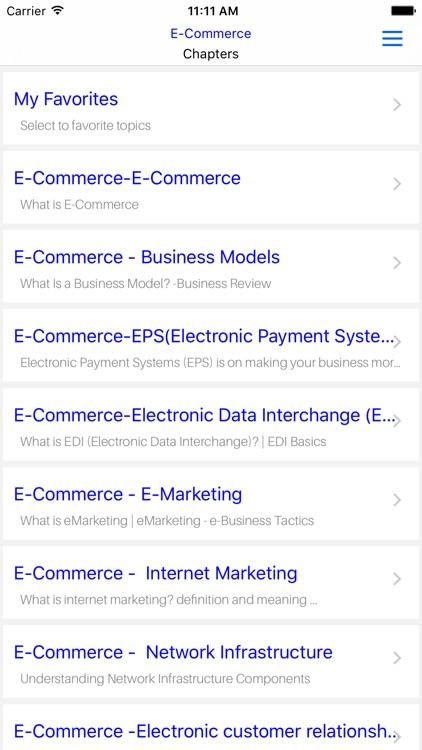 MBA E-Commerce screenshot-4