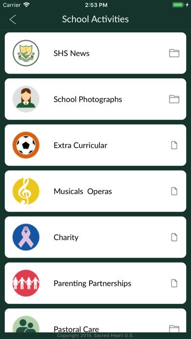 Sacred Heart Grammar School screenshot three
