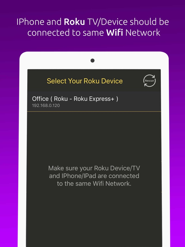 Remote For Roku TV/Devices on the App Store