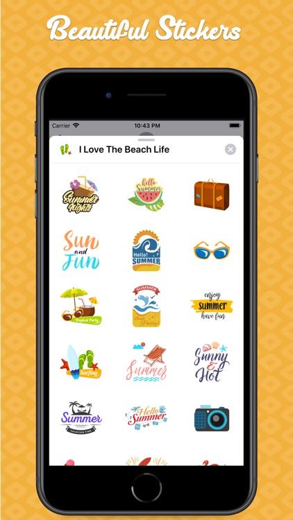 I Love The Beach Life screenshot-3