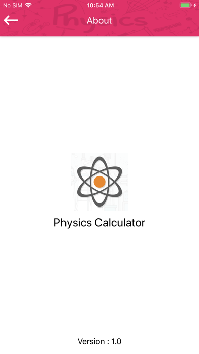 Physics study calc screenshot 5