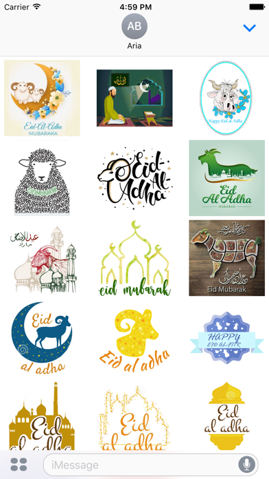 Eid al-Adha Islam Sticker screenshot 2