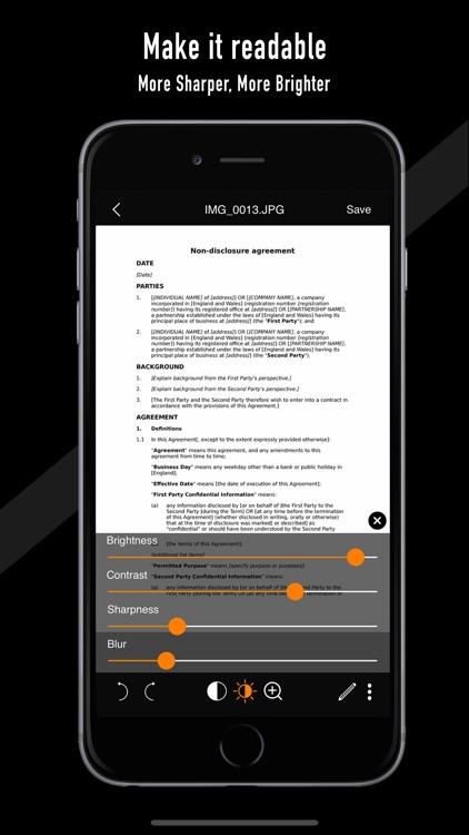 dScanner -Best Doc PDF Scanner screenshot-3