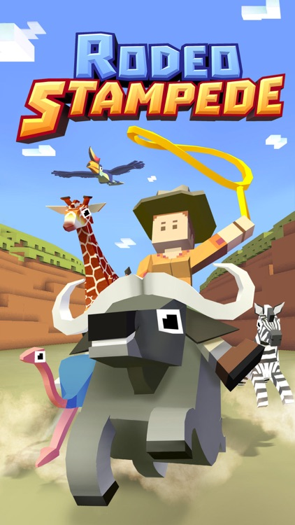 Rodeo Stampede: Sky Zoo Safari screenshot-4